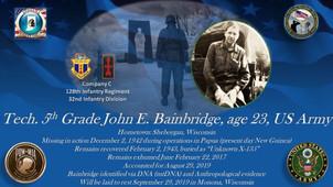 Bainbridge, John E.
