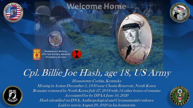 Hash, Billie Joe