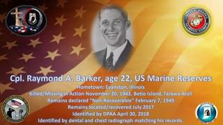 Barker, Raymond A.