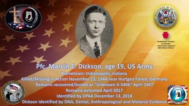 Dickson, Marvin E.