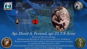 Feriend, David A.