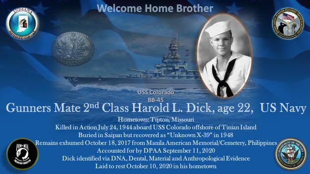 Dick, Harold L.