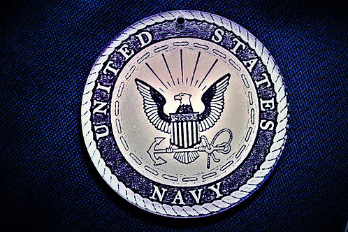 "4.0"" US Navy Medallion"