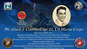 Crawford, Grady J.