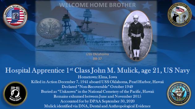 Mulick, John M.