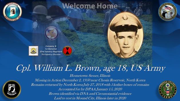 Brown, William L.