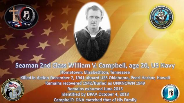 Campbell, William V.