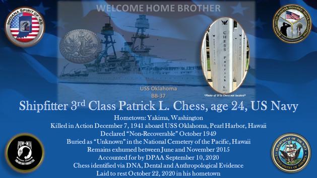 Chess, Patrick L.