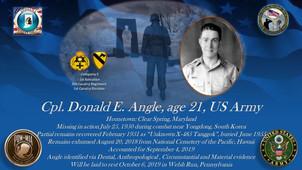 Angle, Donald E.