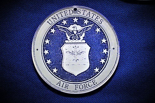 "2.5"" US Air Force Medallion"