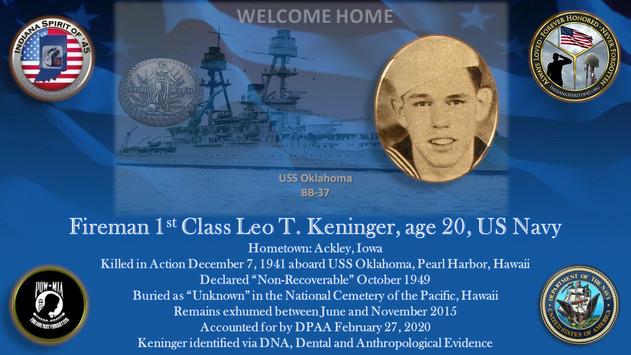 Keninger, Leo T.