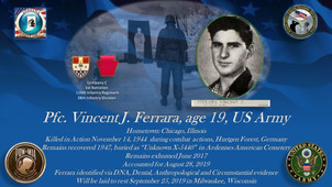 Ferrara, Vincent J.
