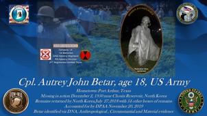 Betar, Autrey John