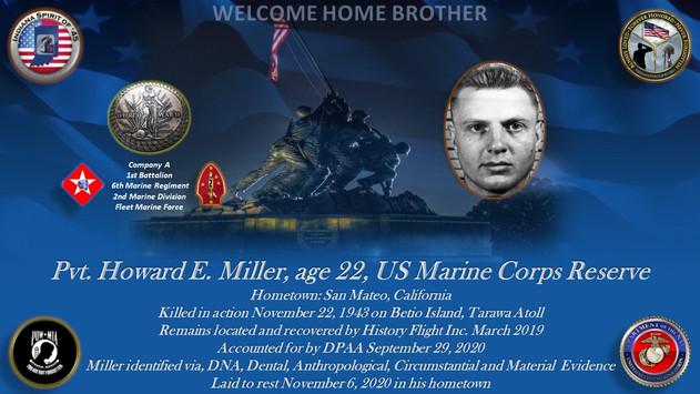 Miller, Howard E.