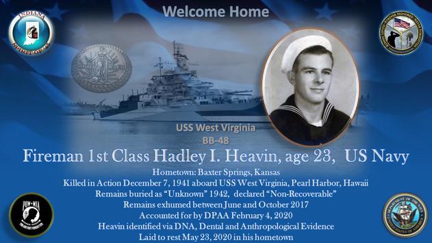 Heavin, Hadley I.