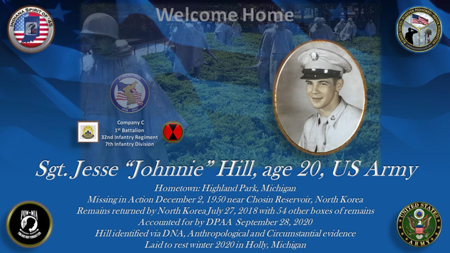 """Hill, Jesse """"Johnnie"""" D."""