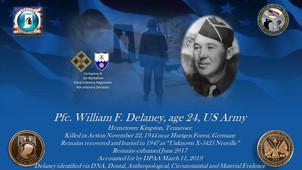 Delaney, William F.
