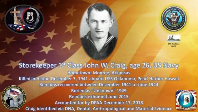 Craig, John W.