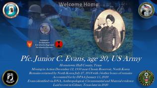 Evans, Junior C.