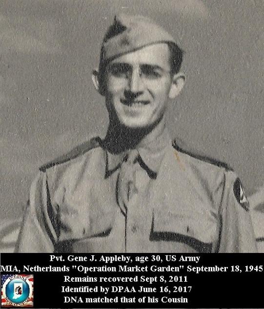 Appleby, Gene J.