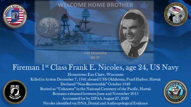 Nicoles, Frank E., Jr.