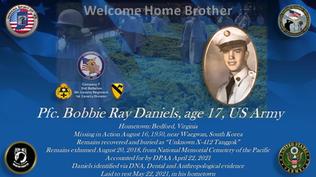 Daniels, Bobbie Ray