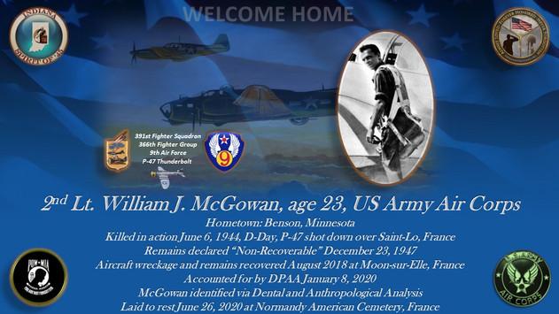 McGowan, William J.