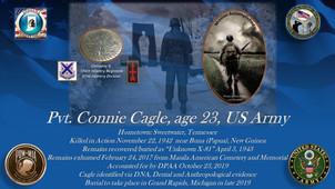 Cagle, Connie