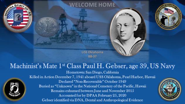 Gebser, Paul H.