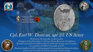 Duncan, Earl W.