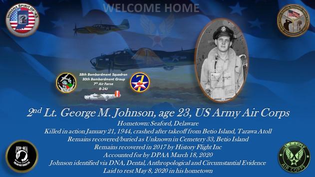 Johnson, George M.