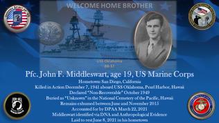 Middleswart, John F.