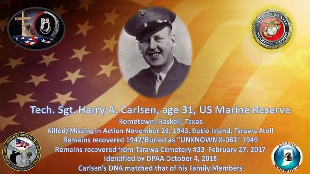 Carlsen, Harry A.