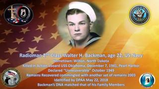Backman, Walter H.