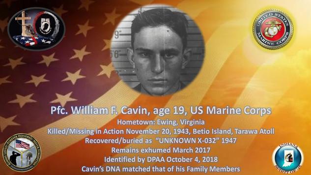 Cavin, William F.