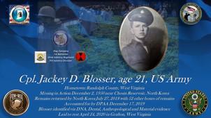 Blosser, Jackey D.