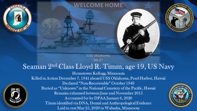 Timm, Lloyd R.