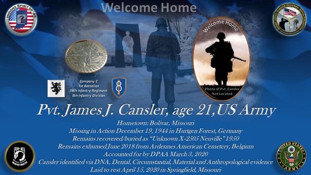 Cansler, James J.