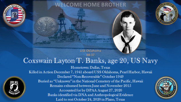 Banks, Layton T.
