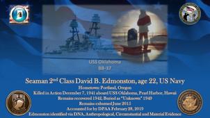Edmonston, David B.