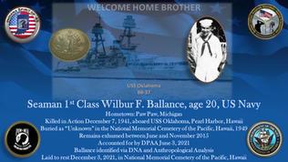 Ballance, Wilbur F.