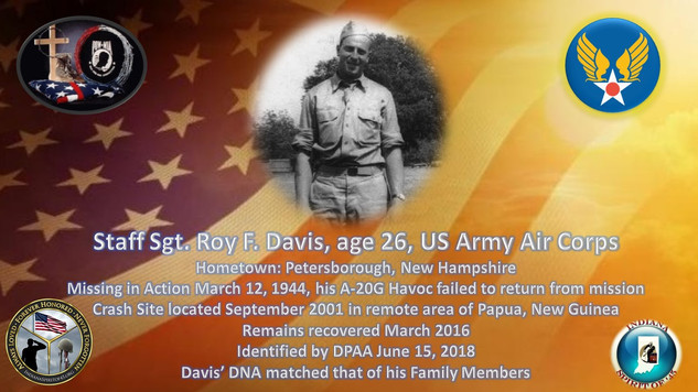 Davis, Roy F.