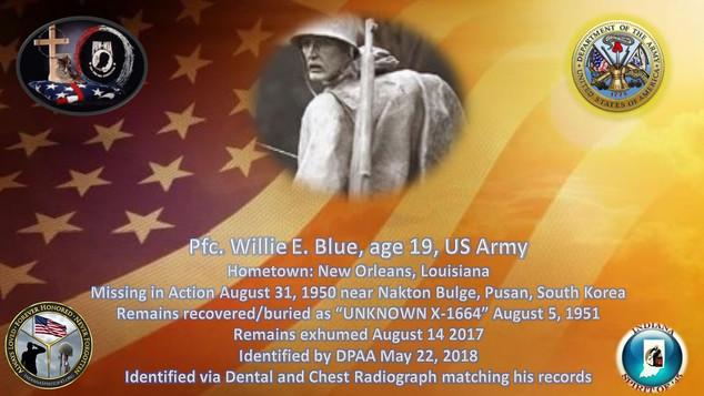Blue, Willie E.