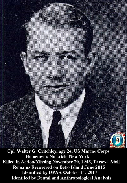 Critchley, Walter G.