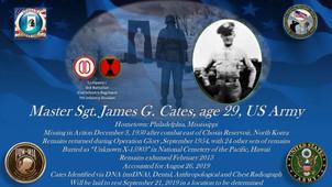 Cates, James G.