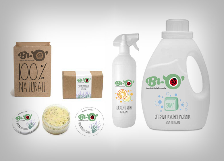 Biò - Packaging prodotti naturali