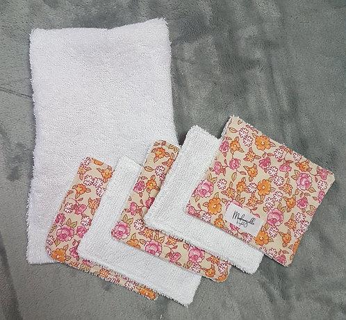 Pochette gant + lingettes Rosie