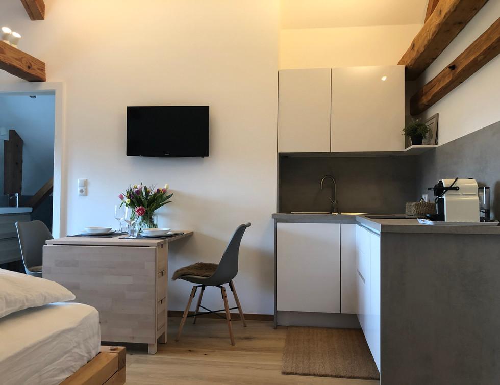cosy loft - kitchen