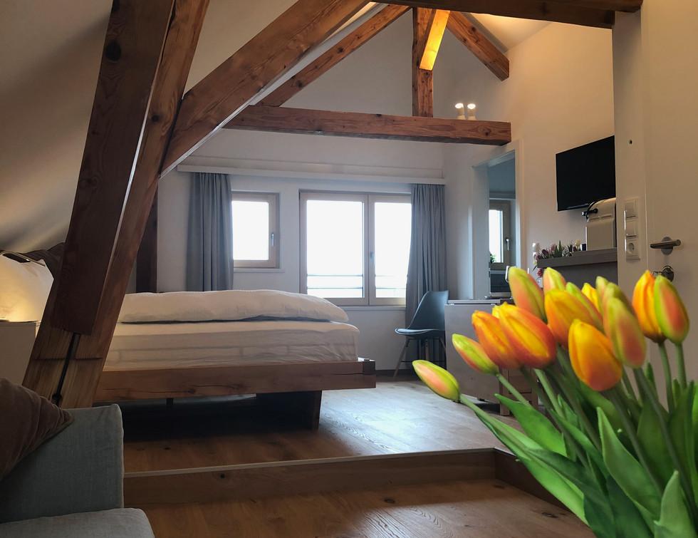 cosy loft - view sofa