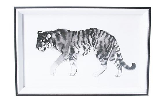 20x30cm Tiger Framed Print